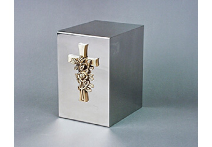 Polished Stainless Cube #35-831
